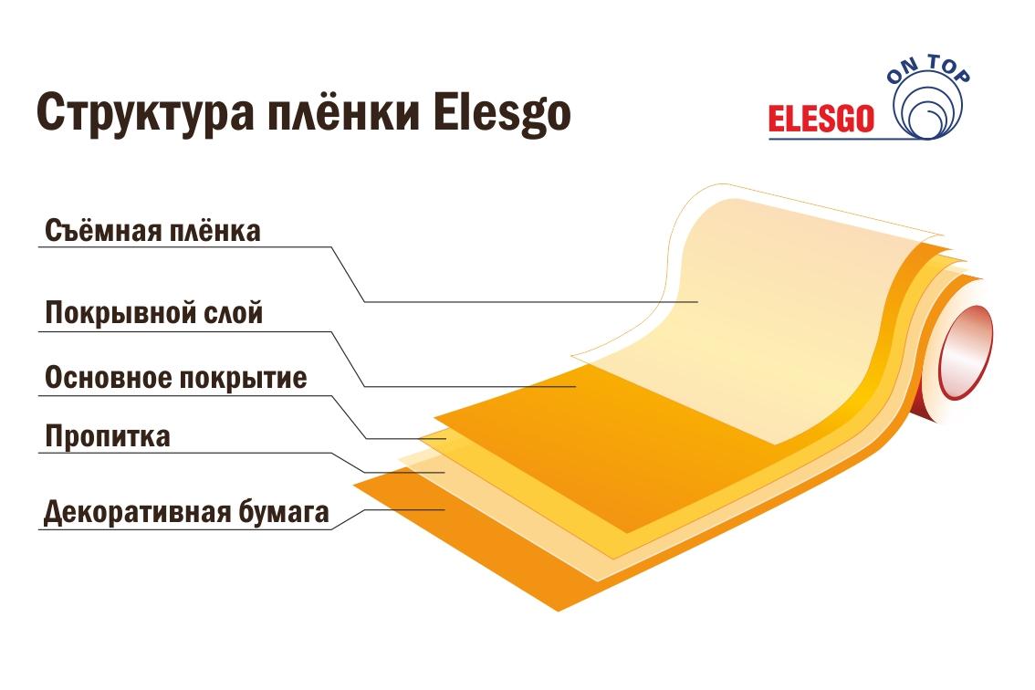 Структура плёнки Elesgo